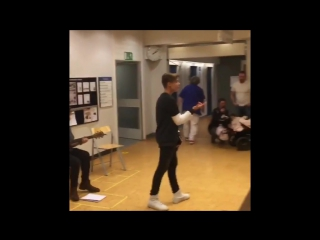 The performance at the hospital in Berlin... Thanks to all those who came and appreciated my work. All love you so much