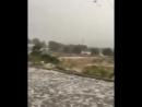 İstanbulda dolu yağışı başladı !!