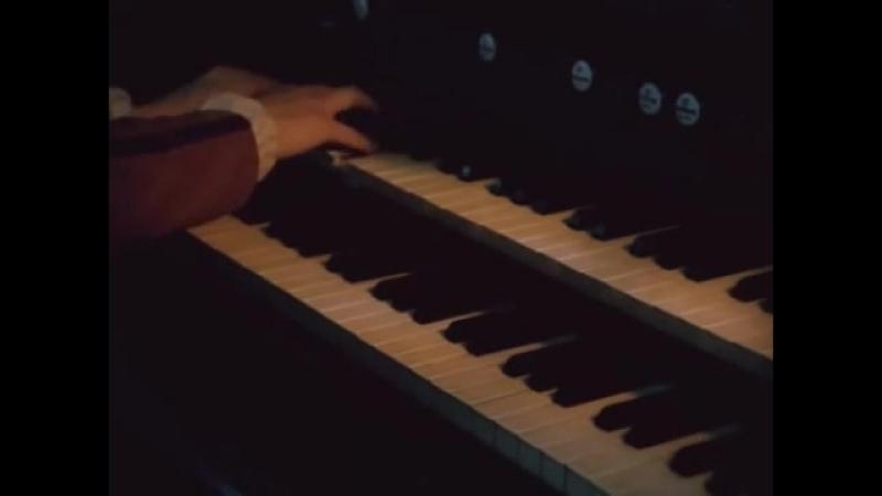 Organ theme from movie Filipp Traum