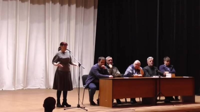 А.Савельев, Н.Квачкова и Е.Рохлина в Дубне. Встреча с дов.лицами Грудинина (5.03