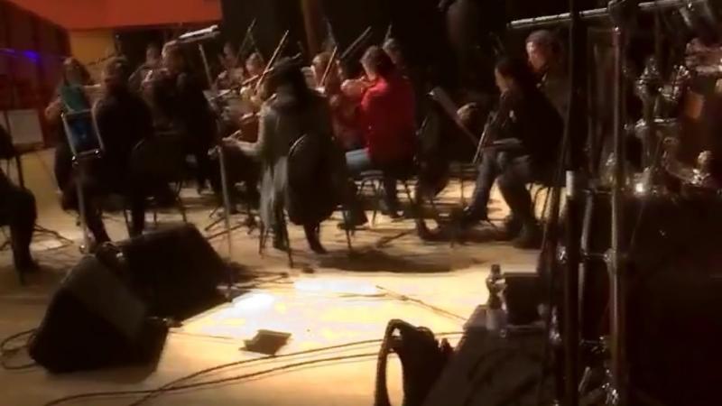 Репетиция Boum-Boum бэнда с оркестром 23.03.2018 г.Екатеринбург