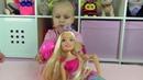 Алиса открывает БОЛЬШУЮ куклу Барби как у Кати !!