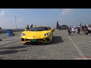 Lamborghini Aventador S LP740-4 - LOUD Revs, Accelerations, Launch Control Cra