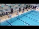 Рождественские старты. Первые соревнования по плаванию.