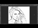 Урок по фотошопу Как преобразовать фотографии в великолепные рисунки карандашом