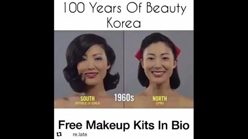 Как менялась мода в Корее.