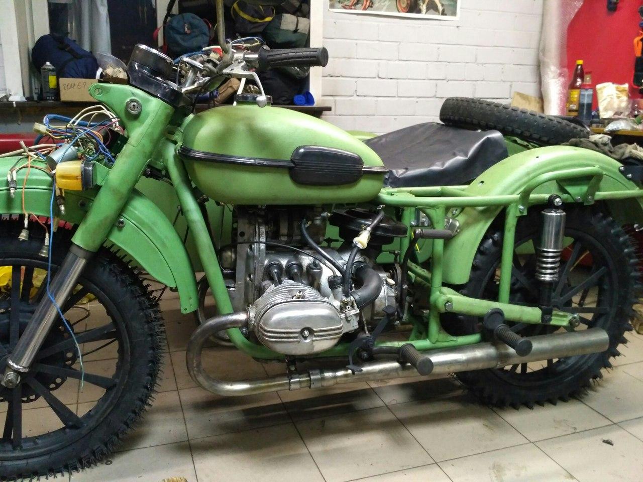 Тюнинг мотоцикла урал фото галереи