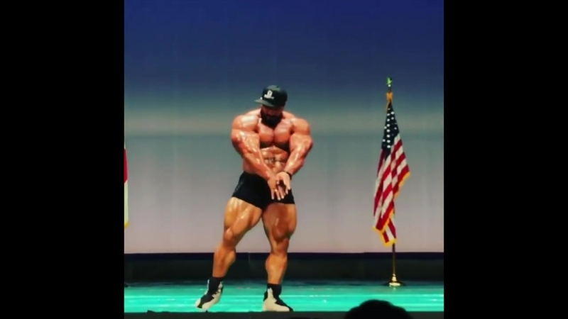 Roelly Winklaar - JACKED Guest Posing (6 Weeks Out)