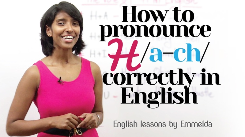 How to Pronounce 'H' correctly in English – Improve English pronunciation | Improve your Accent