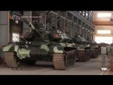 Модернизация танков Т-54/55 на ремонтном заводе Z 153 во Вьетнаме