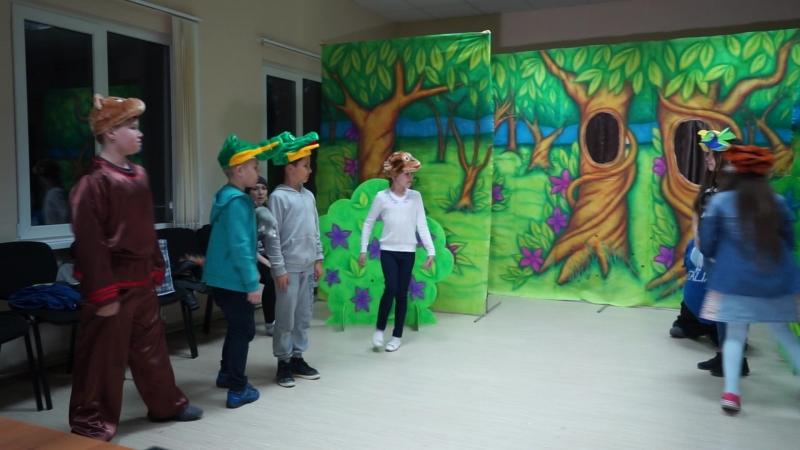 Репетиция спектакля кукольного театра