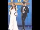 Kim So Hyun and Park Bo Gum