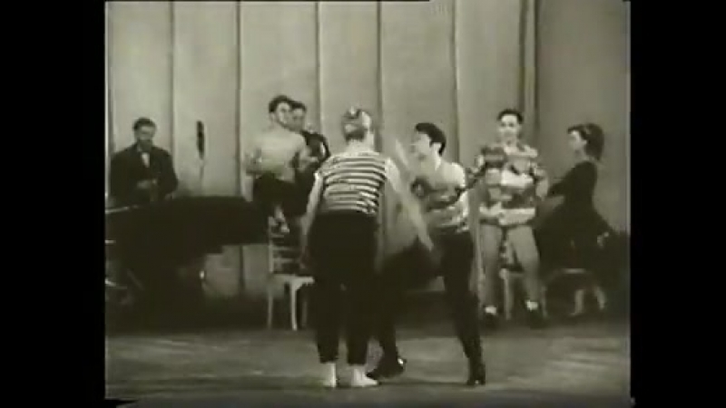 Ансамбль Моисеева -1962- Rock Roll Moiseev dance ansamble