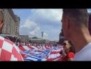 Хорватские болельщики и их кричалки.