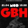 GBH (UK) ● 21.04 ● Mod ● Питер