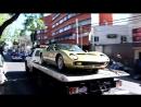 Lamborghini Miura Dorado en la Ciudad de México