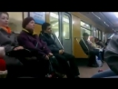 Прикол в Ташкентском метро
