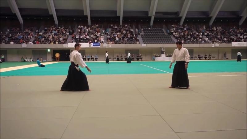 Suzuki Toshio Shidoin at the 12th International Aikido Federation Congress Demon