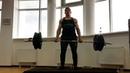 """Арсений on Instagram """"170 кг 1 160 кг3 Год назад повторный максимум был всего 100 кг. На то что я принципиально не пользуюсь поясом, бинтами и л..."""
