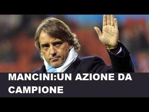 Roberto Mancini soccorre anziana travolta da un'auto Il figlio fortuna l'Italia non è ai mondiali