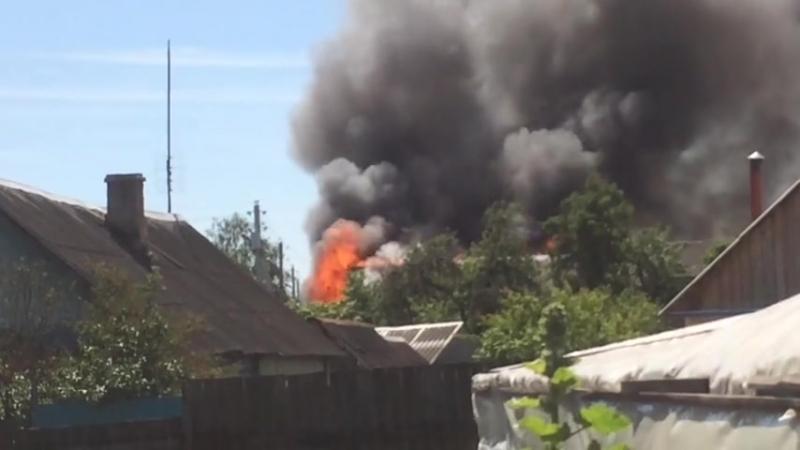 Пожар на Гвардейской