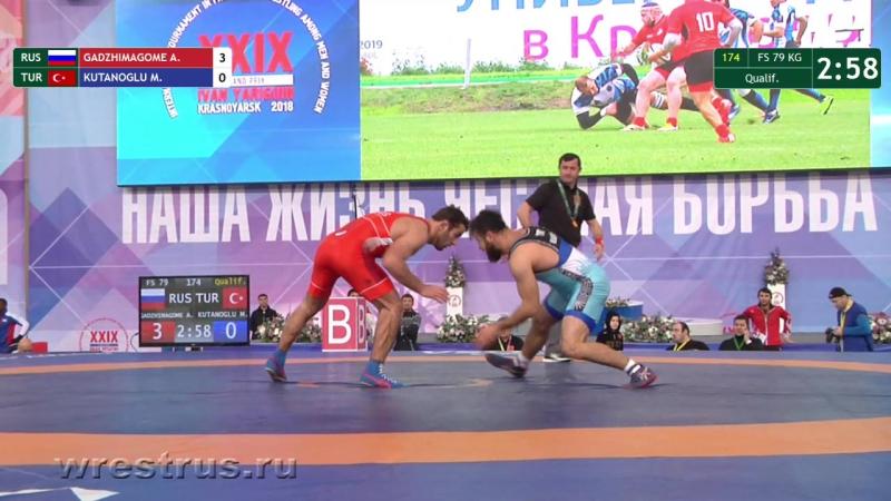 FS 79kg Qual Gadzhimagomedov - Kutanoglu.
