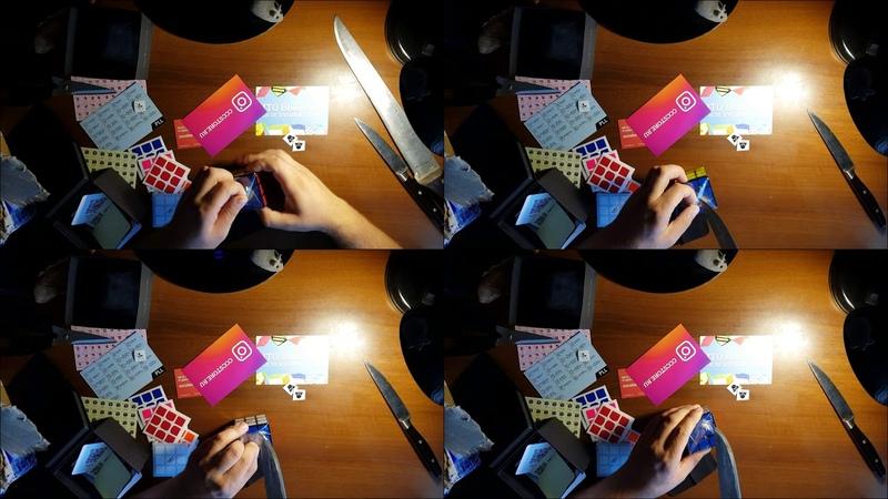 Анбоксинг с CCCSTORE.RU - QiYi MoFangGe 3x3x3 Valk Power M, инструкции, лого