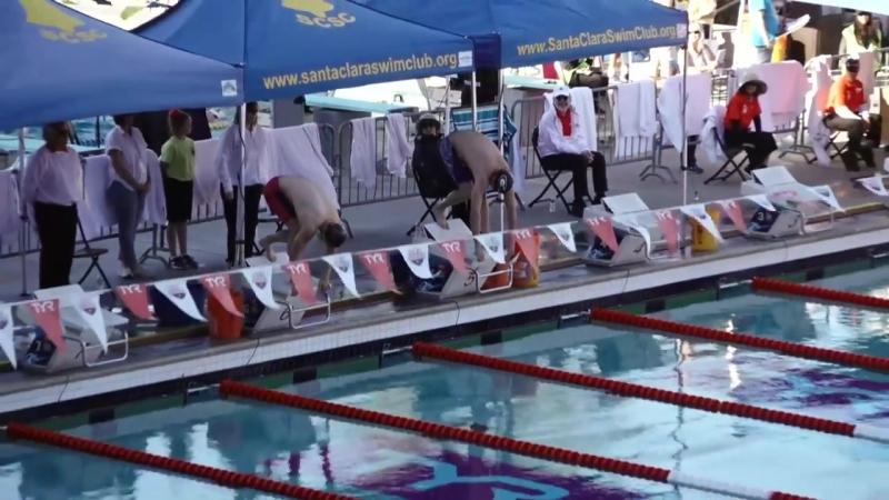 Men's 50 Breast Finals _ 2018 TYR Pro Swim Series – Santa Clara