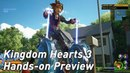 Kingdom Hearts 3 might be the best in the series - hands-on preview impressions