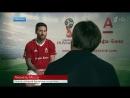 Лучшие голы Л. Месси в интервью Первого канала