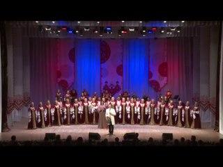 Рязанский хор и Евгений Южин. Ой, цветёт калина.  Прямая трансляция.