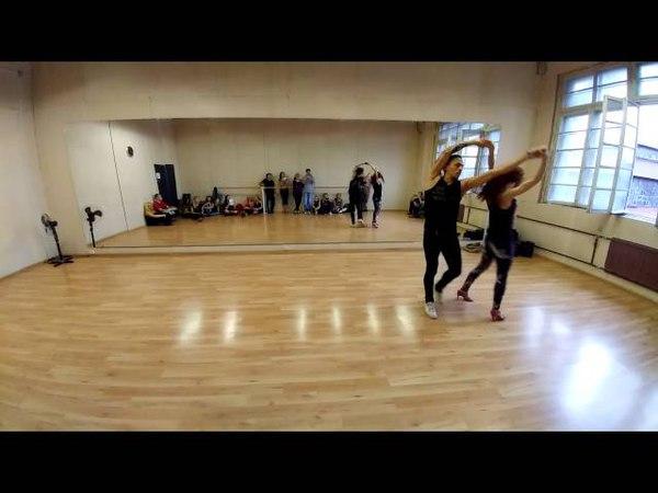 Alicia Keys - New York - Carlos Oliveira Jenya zouk demo @ Ipanema Dance Studio