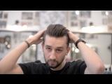 Укладка волос матовой помадой Даки