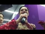 OWG2018 | Figure Skating | Ladies | Evgenia Medvedeva | Interview after FS | 23/02/2018