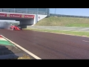 Fit4F1 full wet tyre development test at Fiorano finished with 118 laps completed by @kvya