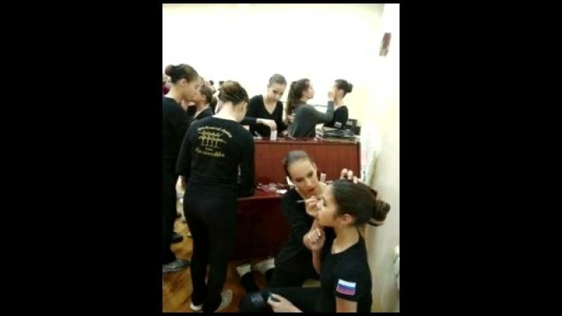 Видео для Казаночки перед выступлением в Италии