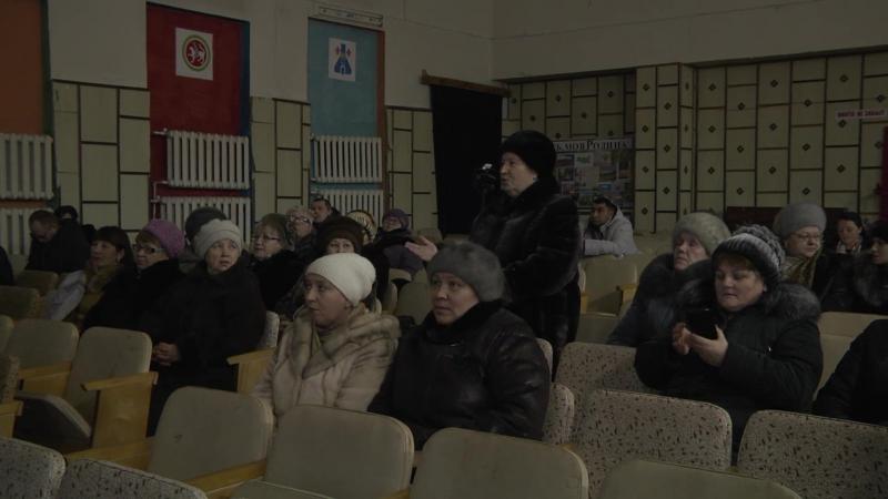 Сход граждан в с. Тихоново
