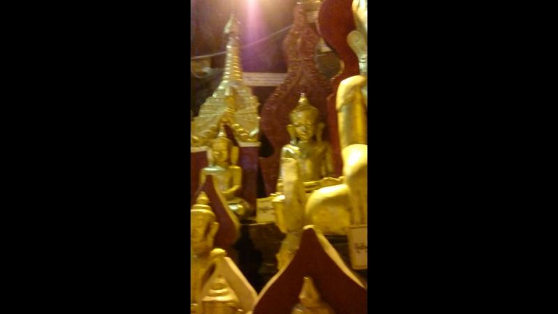 Мьянма Пиндая Удивительный пещерный храм