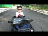 Car broke down Kid repairs car Funny baby video