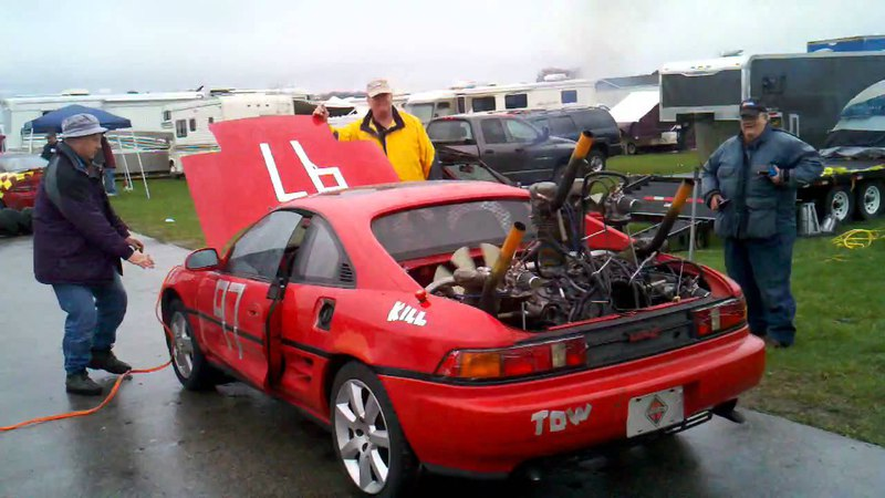 MR2 With a 5 Cylinder Radial Aircraft Engine