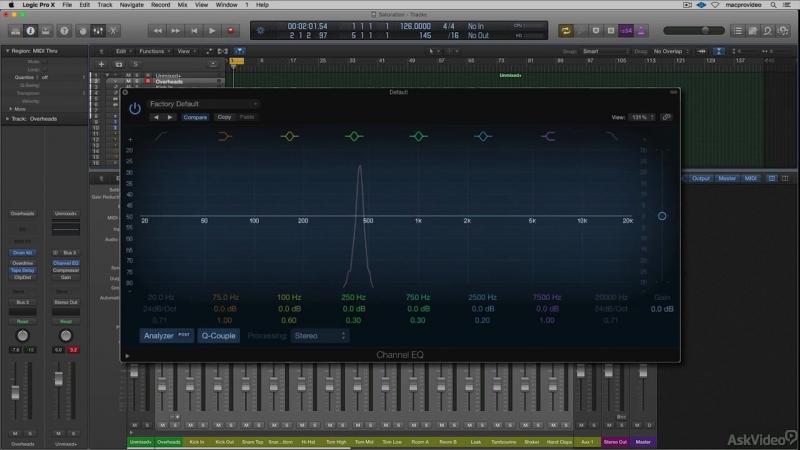 MacProVideo - Logic Pro FastTrack 301 David Earls 10 Top Logic Tips