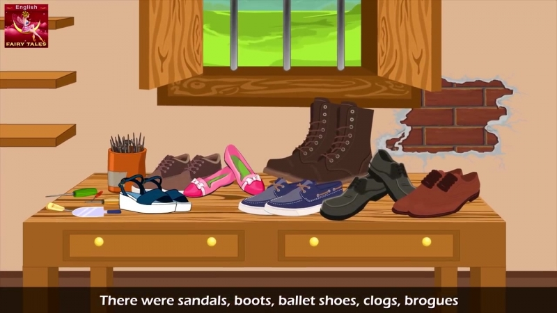 Elves And The Shoe Maker in English - English Story - Bedtime Stories - English Fairy Tales