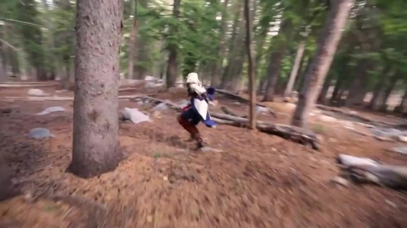 Assassins Creed 3 - Meets Parkour in Real Life