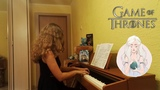 Game of Thrones Ice and Fire Main theme (Piano cover)