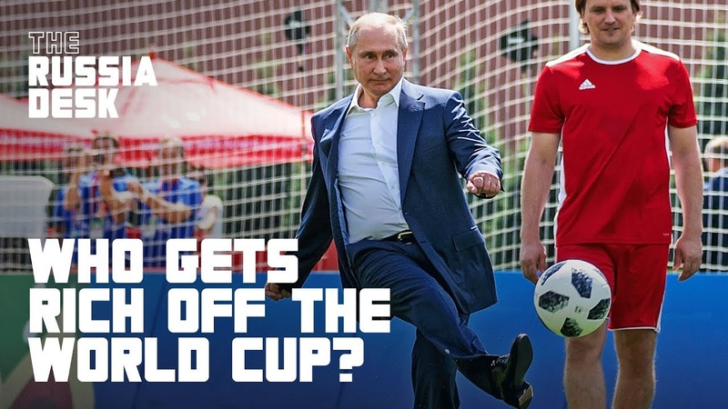 How Putin's Government Used The World Cup To Make The Rich Richer | NowThis