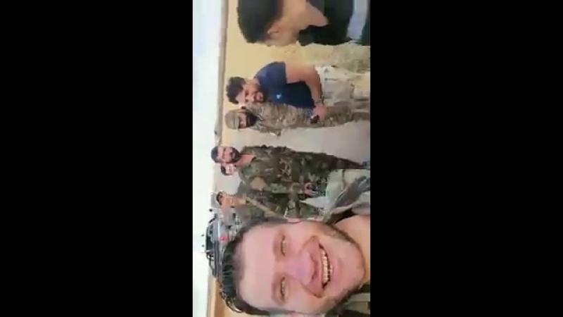 Герои группы Вз-Заира полка Али Таха в городе аль-Харак