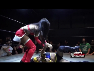Renee Michelle  Nyla Rose vs. Karen Q  Tasha Steelz - Womens Wrestling Revolution