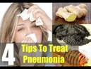 How To Treat Pneumonia At Home Without Antibiotics - With Home Remedies