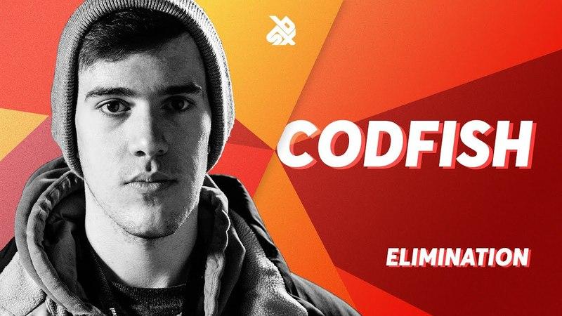 CODFISH   Grand Beatbox SHOWCASE Battle 2018   Elimination