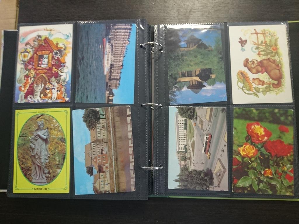 Смотреть коллекции открыток